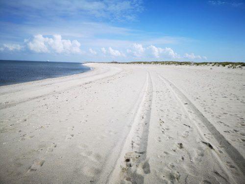 Nordseeküste Fotovorlage zum Abzeichnen Sandstrand 2