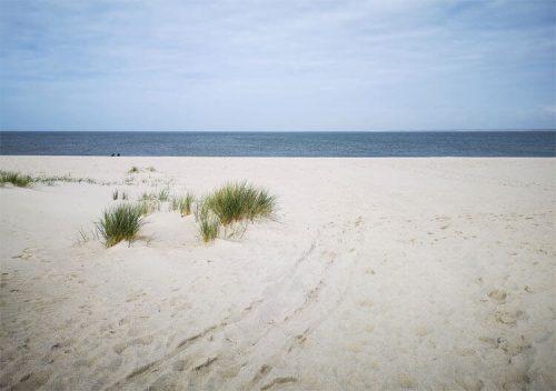 Nordseeküste Fotovorlage zum Abzeichnen Sandstrand 3
