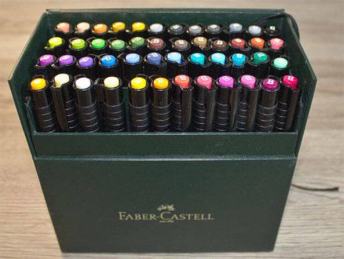 Faber-Castell PITT artist pen 48er Set