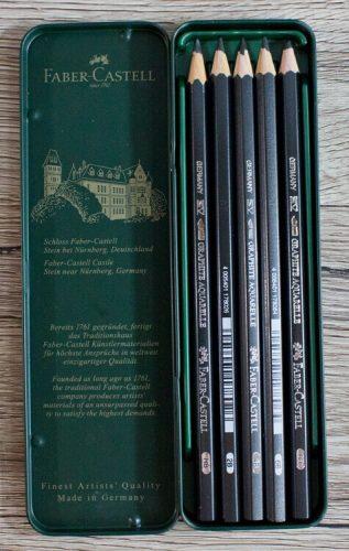 Faber Castell Graphite Aquarell Bleistifte