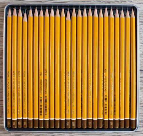 Koh-I-Noor Hardtmuth Graphite Bleistift