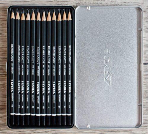 Lyra Rembrandt art design Bleistifte