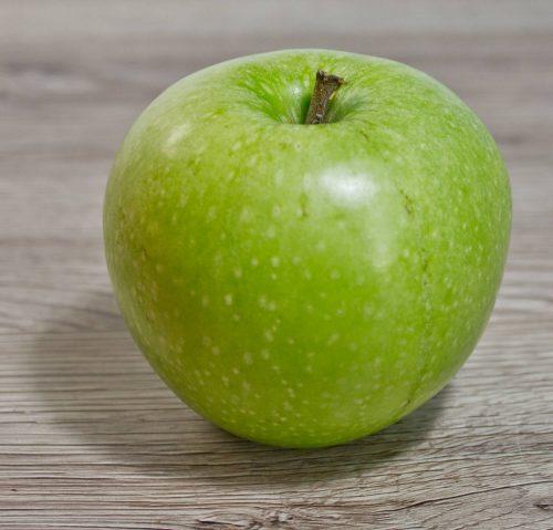 Foto eines Apfels als Zeichenvorlage - für Anfänger geeignet