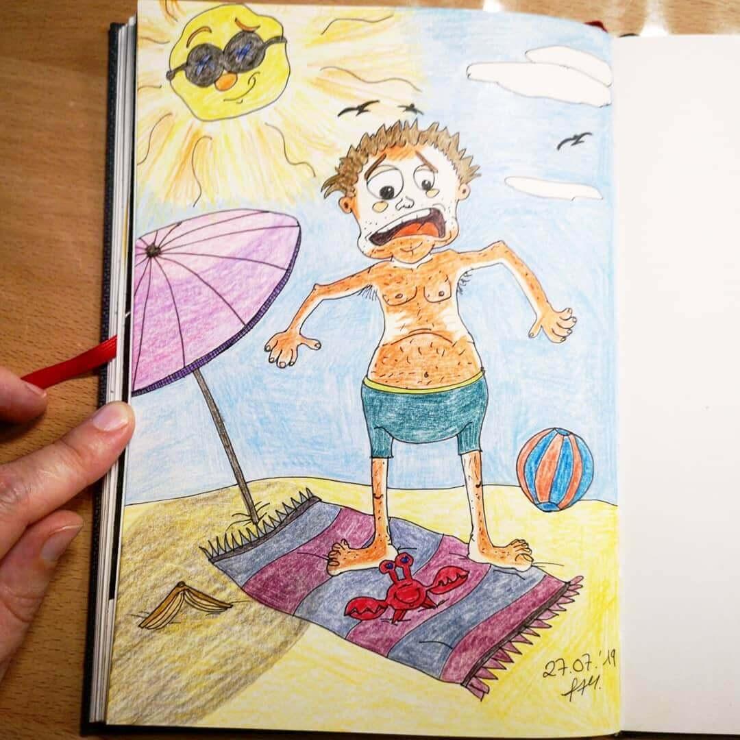 Tag 27 - Bösewicht im Urlaub