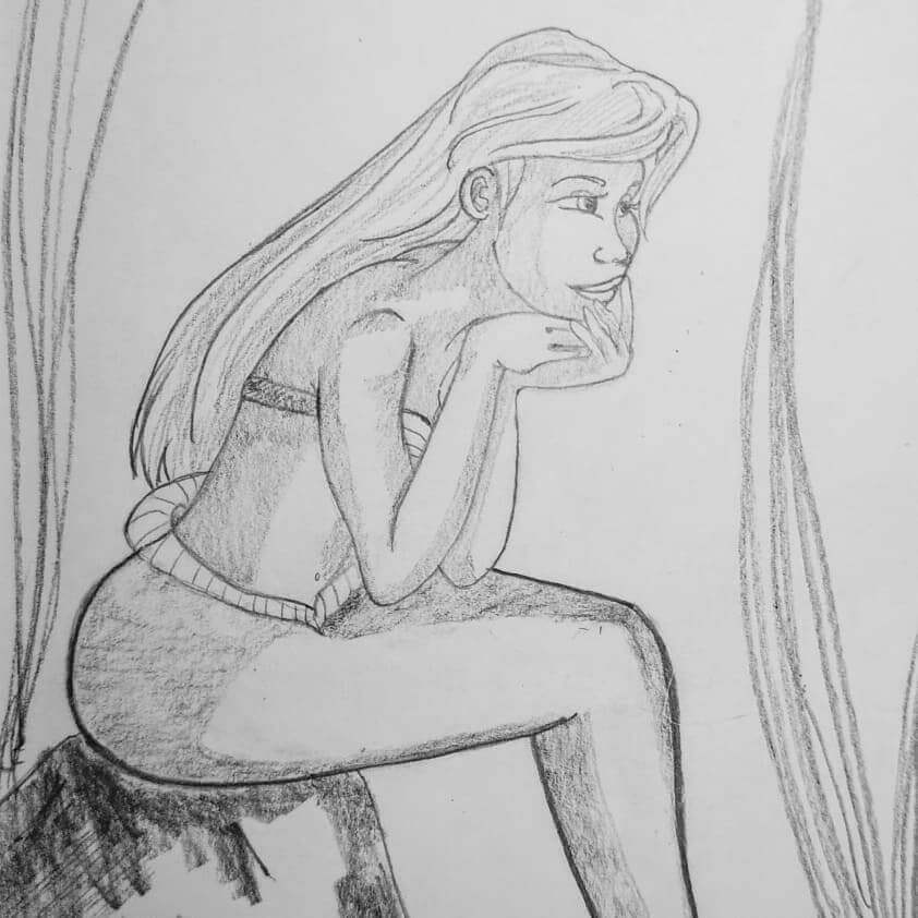 Bleistiftzeichnung mit Royal & Langnickel Royal Graphite Bleistift