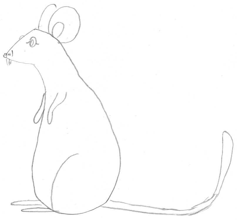 Beispiel - Maus macht Männchen 2