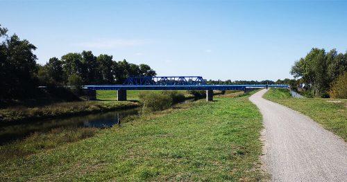Flusslandschaft neue Lippebrücke 3