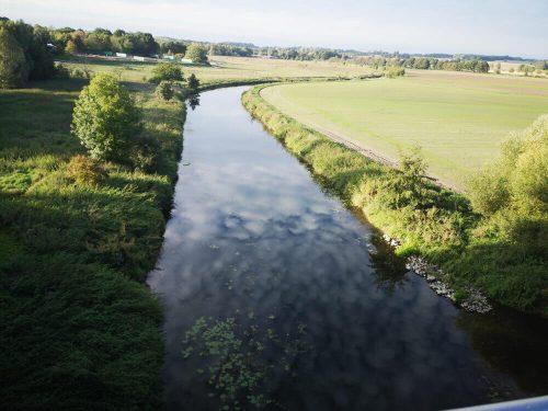Flusslandschaft der Stever 1
