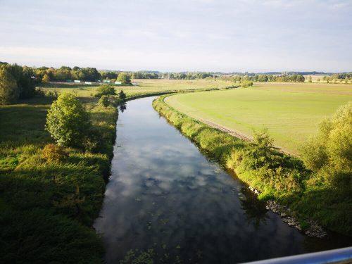 Flusslandschaft der Stever 2