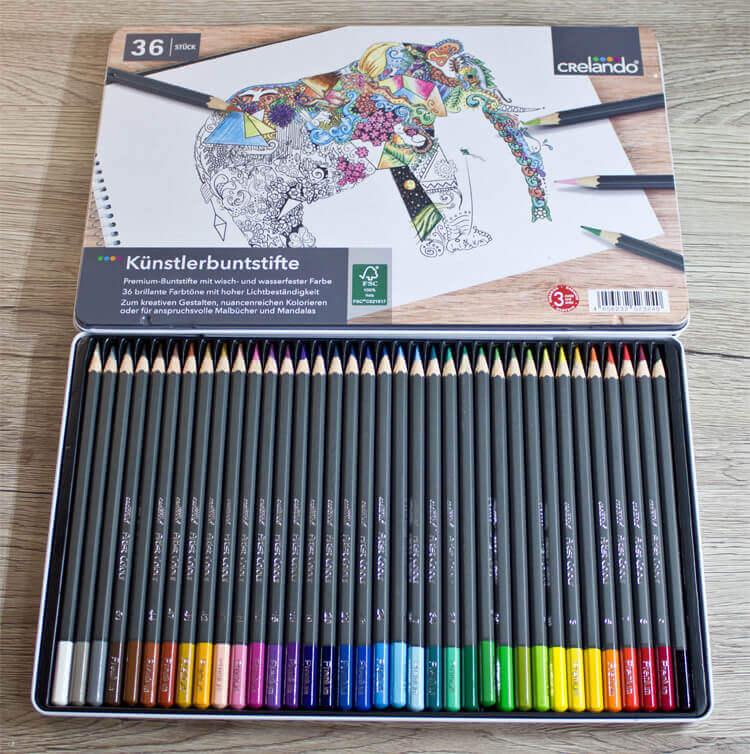 Gute Künstlermaterialien für kleines Geld