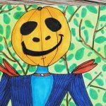 Halloween Figur zeichnen