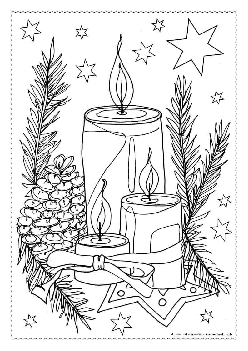 adventskalender ausmalbilder  teil 3 1412 bis 2012