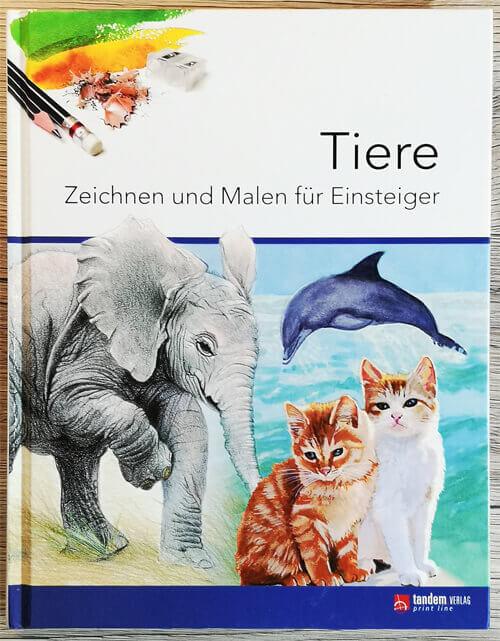 Buch: Tiere zeichnen und malen für Einsteiger