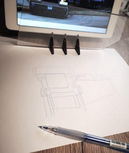 Skizzenprojektor benutzen: so kannst du damit skizzieren und zeichnen