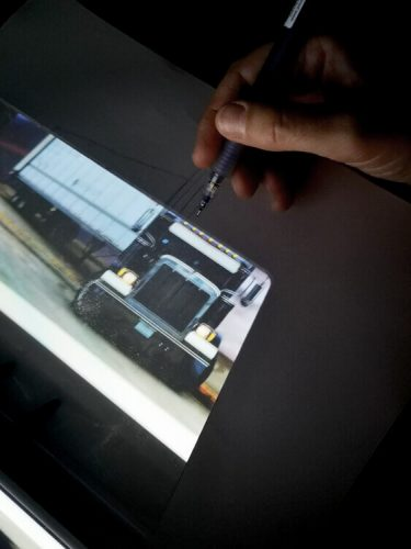 Tracing Pad: hoher Kontrast und ein klares Bild am besten im Dunkeln 3