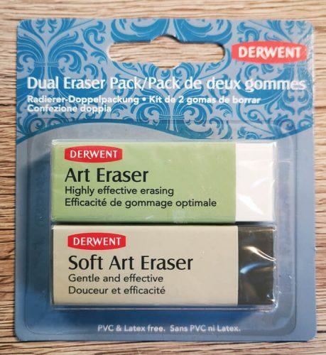 DERWENT Art Eraser und Soft Art Eraser