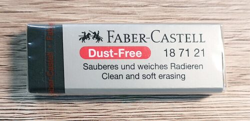 Faber-Castell Radiergummi für sauberes und weiches Radieren
