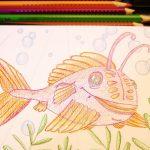 Comicfisch zeichnen