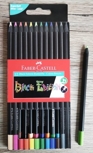 Faber-Castell Black Edition Buntstifte