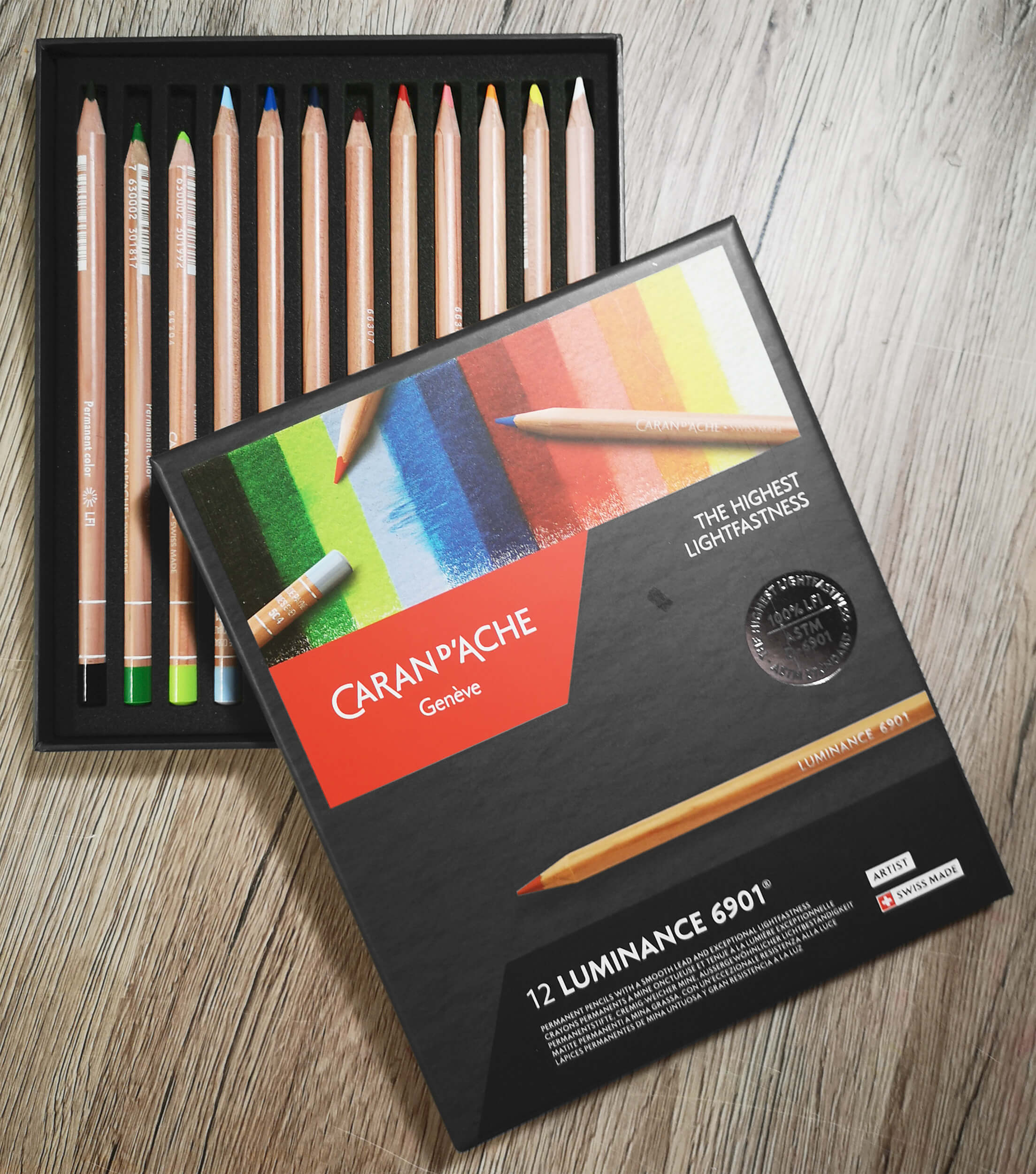 Review: Caran D'Ache Luminance Buntstifte