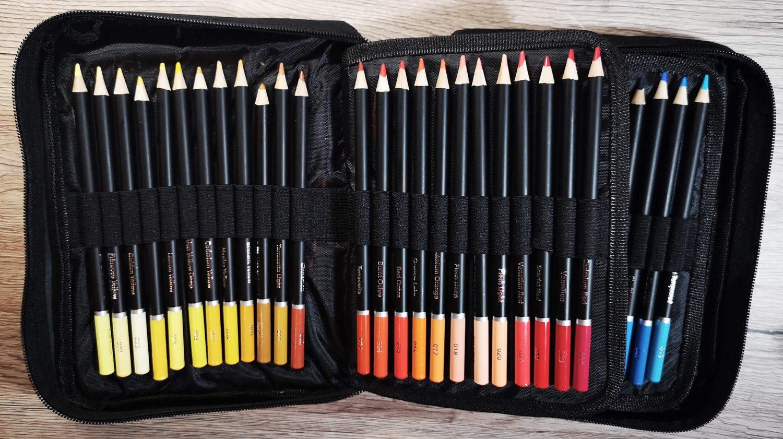 Castle Arts Premium Soft Coloured Pencils