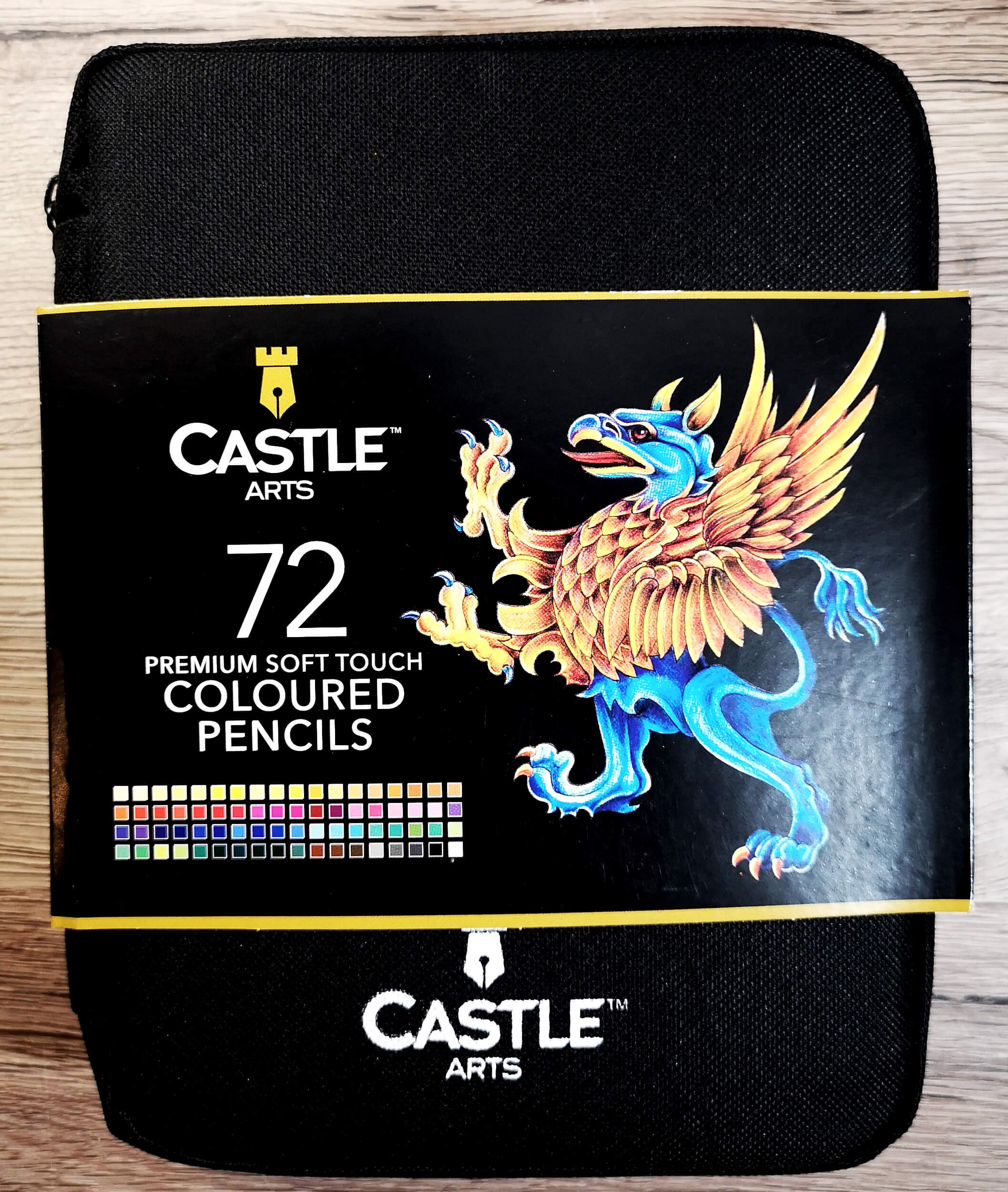 Review: Castle Arts Premium Soft Touch Coloured Pencils