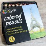 Review: Coloré Colored pencils